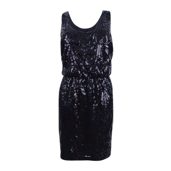 *HP* Jessica Simpson sequined evening dress SZ 2